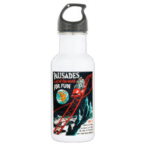 The Palisades vintage poster Stainless Steel Water Bottle