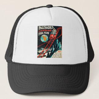 The Palisades vintage poster Trucker Hat