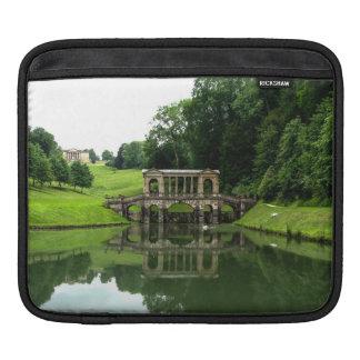 The Palladian Bridge in Prior Park, Bath, England iPad Sleeve