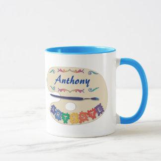 The Pallet of the Artist Mug