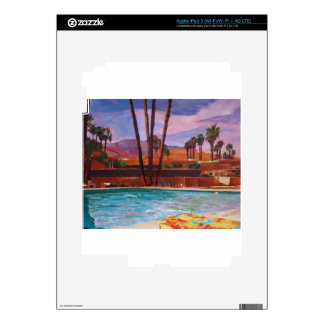 The Palm Springs Pool iPad 3 Skins