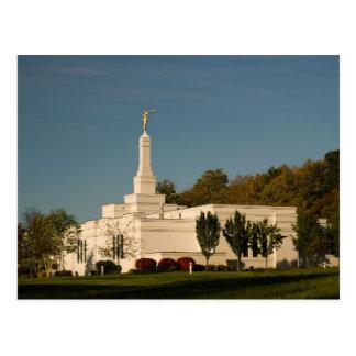 The Palmyra New York LDS Temple Postcard