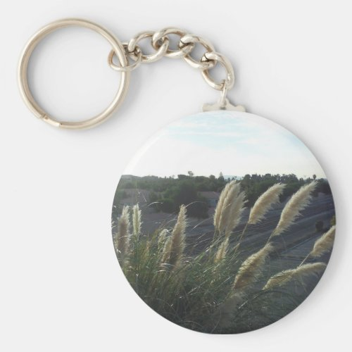 The Pampas Grass Key Chain