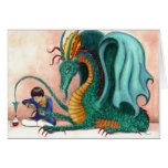 The Pampered Dragon Stationery Note Card