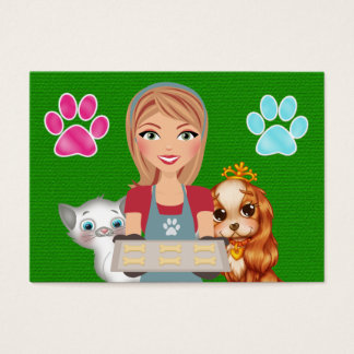 The Pampered Pet - SRF Business Card