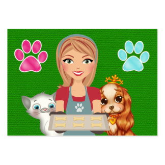 The Pampered Pet - SRF Business Card Templates