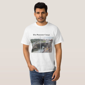 The Panama Canal, High Def Photography T-Shirt