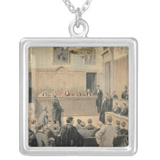 The Panama Trial Silver Plated Necklace