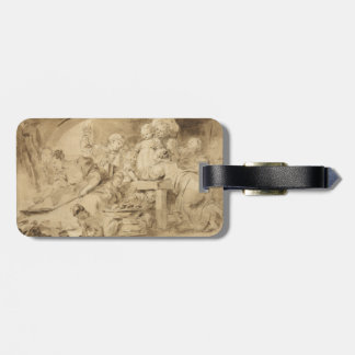 The Pancake Maker by Jean-Honore Fragonard Bag Tag