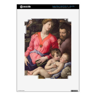 The Panciatichi Holy Family, c.1530-32 (oil on pan Decal For iPad 3