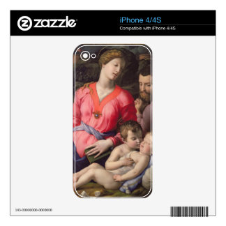 The Panciatichi Holy Family, c.1530-32 (oil on pan Decal For The iPhone 4