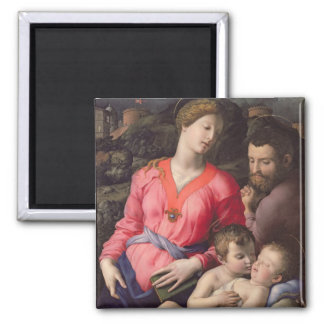 The Panciatichi Holy Family, c.1530-32 (oil on pan Magnet