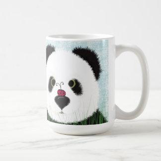 The Panda Bear And His Visitor Coffee Mug
