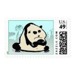 the panda bear postage stamp