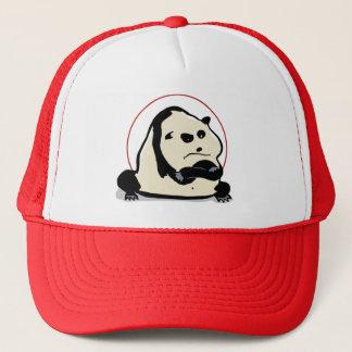 the panda bear trucker hat