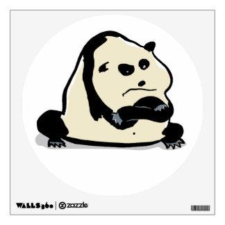 the panda bear wall decal