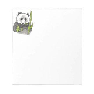 The Panda... Notepad