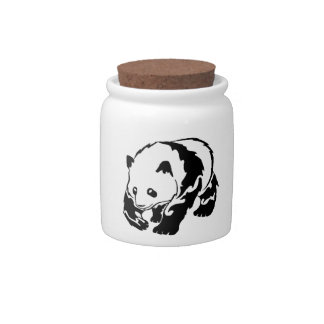 THE PANDA STRUT CANDY JAR