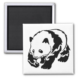 THE PANDA STRUT REFRIGERATOR MAGNET