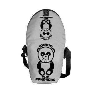 The Pandache custom color messenger bag