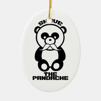 The Pandache custom color ornament