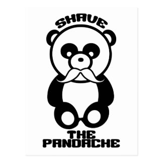 The Pandache custom postcard