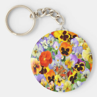 The Pansy Collection Keychain