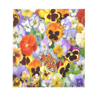 The Pansy Collection Memo Pad