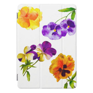 'The Pansy Party' on an iPad Smart Cover
