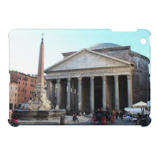 The Pantheon and its famous square in Rome, Italy Cover For The iPad Mini