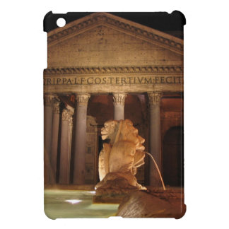 The Pantheon and the Fontana del Pantheon in Rome Case For The iPad Mini