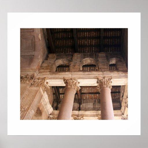 The Pantheon Detail Print