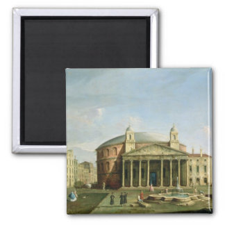 The Pantheon in Rome 2 Inch Square Magnet