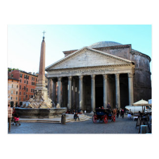The Pantheon in Rome, Italy Postcard