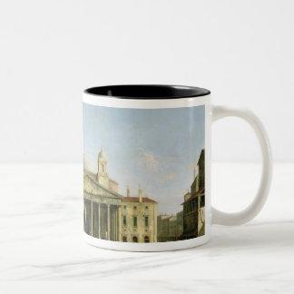 The Pantheon in Rome Two-Tone Coffee Mug