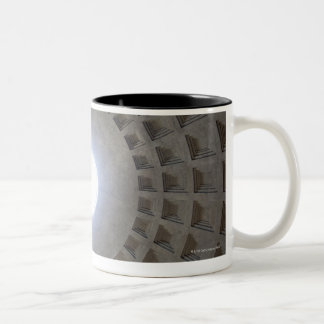 The Pantheon is constructed according to the Two-Tone Coffee Mug