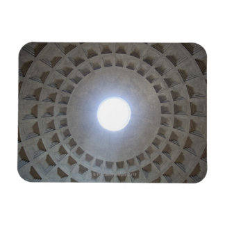 The Pantheon is constructed according to the Rectangular Photo Magnet