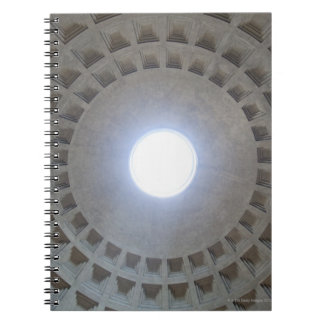 The Pantheon is constructed according to the Spiral Notebook