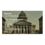 The Pantheon, Paris, France classic Photochrom Double-Sided Standard Business Cards (Pack Of 100)