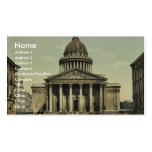 The Pantheon, Paris, France classic Photochrom Business Card