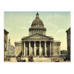 The Pantheon, Paris, France classic Photochrom Postcard
