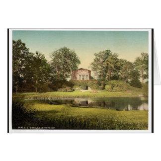 THe Pantheon, park of Worlitz, Anhalt, Germany cla Greeting Card
