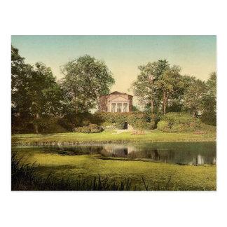 THe Pantheon, park of Worlitz, Anhalt, Germany cla Postcard