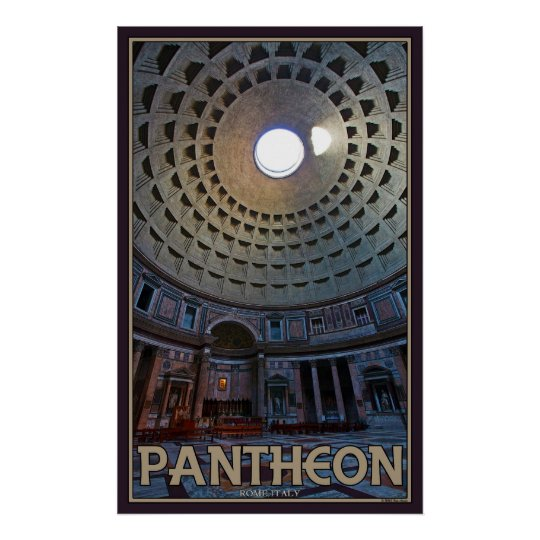 The Pantheon Poster