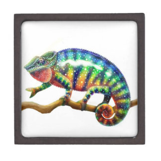 The Panther Chameleon Lizard Premium Gift Box