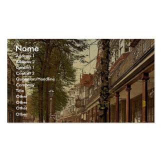 The Pantiles, looking south, Tunbridge Wells, Engl Business Cards