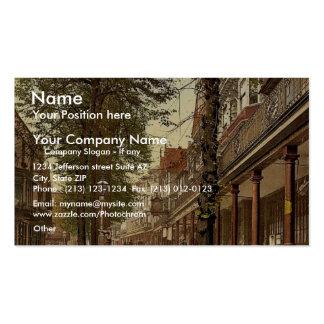The Pantiles, looking south, Tunbridge Wells, Engl Business Card Templates