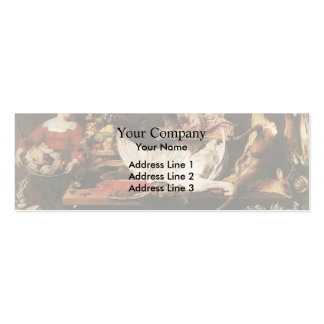 The Pantry by Frans Snyders Business Cards