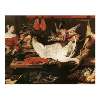 The Pantry by Frans Snyders Postcard