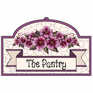"""""""The Pantry"""" - Decorative Sign - 33 Cutout"""